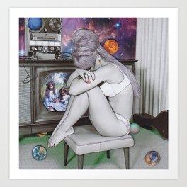 Memories of a space cadet Art Print