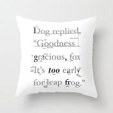 Goodness Throw Pillow