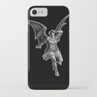 satan iPhone & iPod Cases featuring Satan by TheMessianicManic