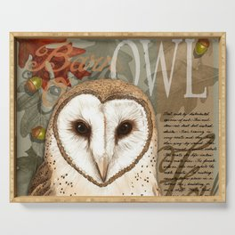 The Barn Owl Journal Serving Tray