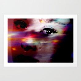 Burning Eyes 01 Art Print