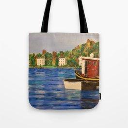 Peaceful Harbor Tote Bag