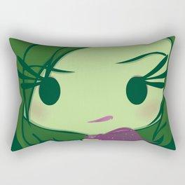 Disgust Rectangular Pillow