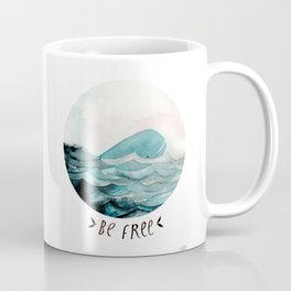 Be free Coffee Mug