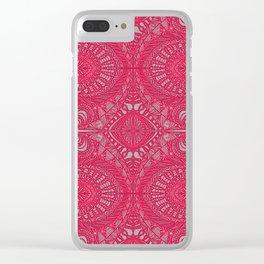 Mehndi Ethnic Style G343 Clear iPhone Case