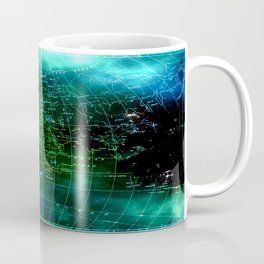 earth map Coffee Mug