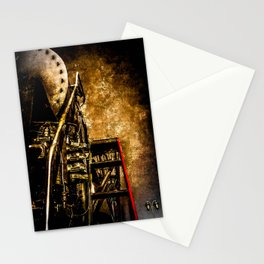 Vintage Steam Engine Locomotive - Commanding Heights Stationery Cards