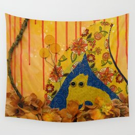 i wonder if the rain loves the trees and fields, that it kisses them so gently? Wall Tapestry