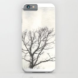 Emulsion Lift 2- Ghostly Tree iPhone Case