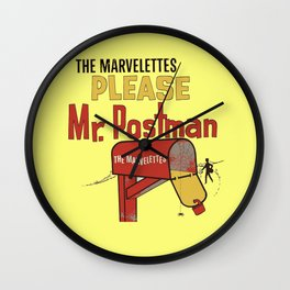 Mr. Postman Wall Clock