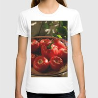 vegetables T-shirts featuring Red vegetables by Svetlana Korneliuk