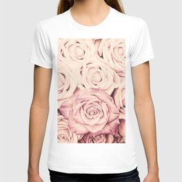 Some people grumble I Floral rose roses flowers pink T-shirt