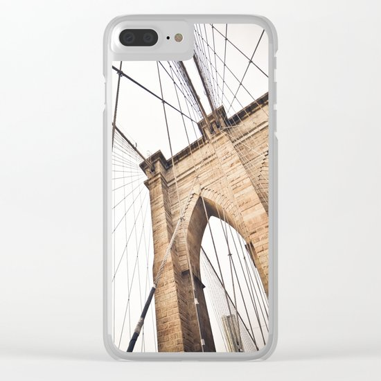 Brooklyn Bridge I Clear iPhone Case