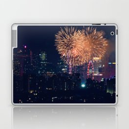 Fireworks in the City (Color) Laptop & iPad Skin