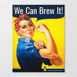 We Can Brew It! Canvas Print