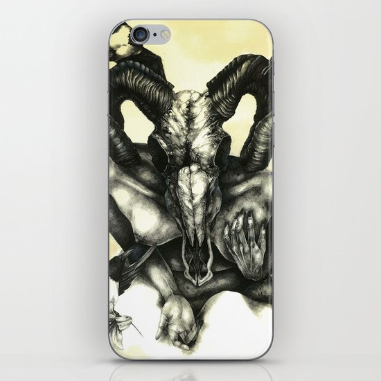 The Ram and the Crows iPhone & iPod Skin