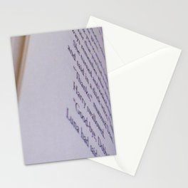 The Dead Elf Stationery Cards