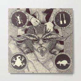 Grimm Metal Print