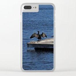 The Cormorant Clan Clear iPhone Case