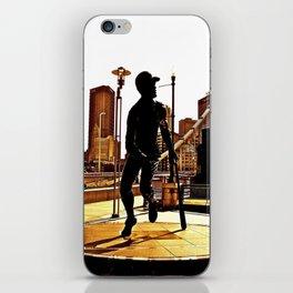 Roberto's Shadow Lives In Roberto's City iPhone Skin