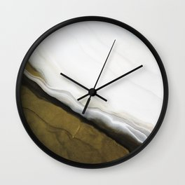 Slice of Heaven - Original Abstract Painting Wall Clock