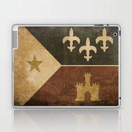 Acadian Flag Laptop & iPad Skin