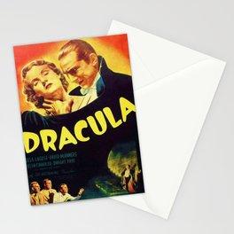 Vintage 1931 Bela Lugosi Dracula Movie Advertisement Poster Stationery Cards