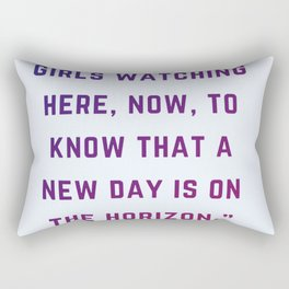 Quote by Oprah Rectangular Pillow