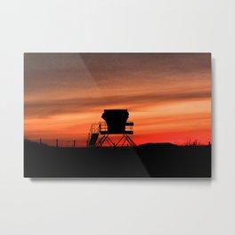 Tower 22 Sunset Metal Print