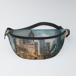 A Storm in New York City Fanny Pack