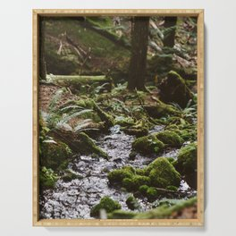 Forest Stream Serving Tray