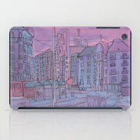 budapest iPad Cases featuring Budapest through pencil by Zsolt Vidak