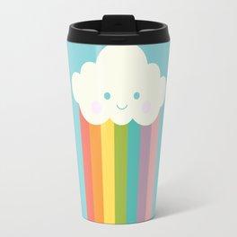 Proud rainbow cloud Travel Mug