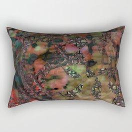 Fenêtre et mousse Rectangular Pillow