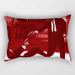 Minimalistic Reservoir dogs Rectangular Pillow