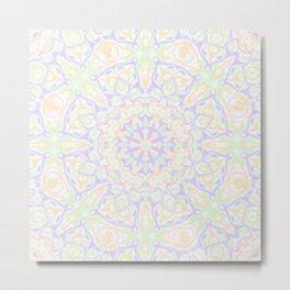 Pastel Kaleidoscope 2 Metal Print