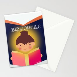 I am a Bibliophile Stationery Cards