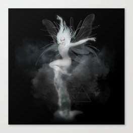Air Witch - Elements Collection Art Print Canvas Print