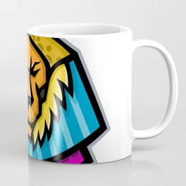 Sekhmet Egyptian Warrior Goddess Mascot Coffee Mug