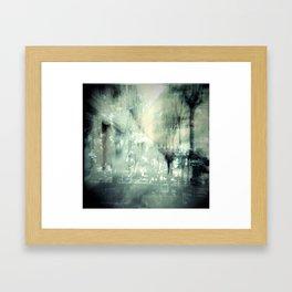 COLLIDING REALITIES III Framed Art Print
