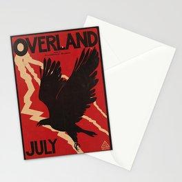 retro overland july. 1895  Stationery Cards