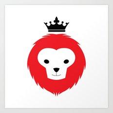 Little Lion Man Art Print