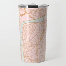 Prague map Travel Mug