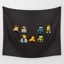 Choose Your Fighter Wall Tapestry