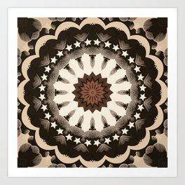 Ouija Wheel of Stars - Beyond the Veil Art Print