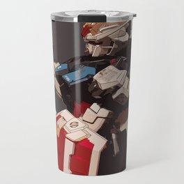 Gundam Aile Strike Digital Painting Travel Mug