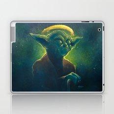 The Contemplation of Saint Yoda Laptop & iPad Skin