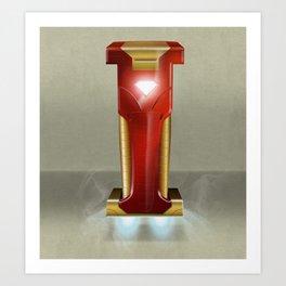 Superbet 'I' Art Print