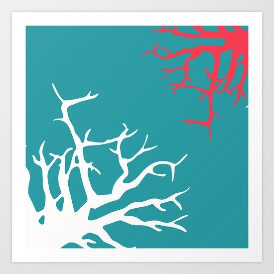CORAL REEF 11 Art Print