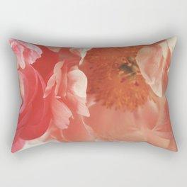 Paeonia #4 Rectangular Pillow